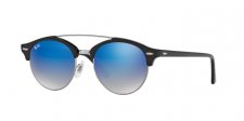Ray Ban RB4346 CLUBROUND DOUBLE BRIDGE 62507Q