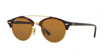 Ray Ban RB4346 CLUBROUND DOUBLE BRIDGE 990/33